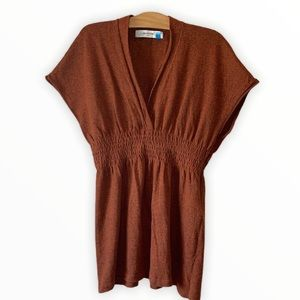 Anthropologie Sparrow knit Short Sleeves Sweater